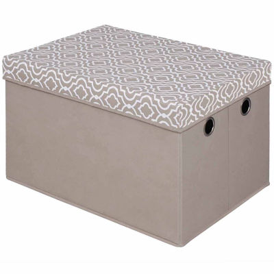 Bintopia™ Storage Trunk With Removeable Lid and Rope Handles