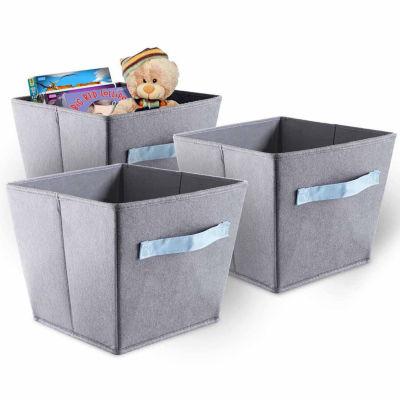 Bintopia™ 3 Pack Felt Storage Bins