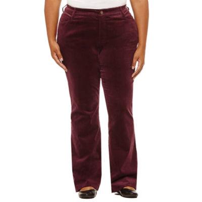 St. John's Bay® Bootcut Corduroy Pant - Plus