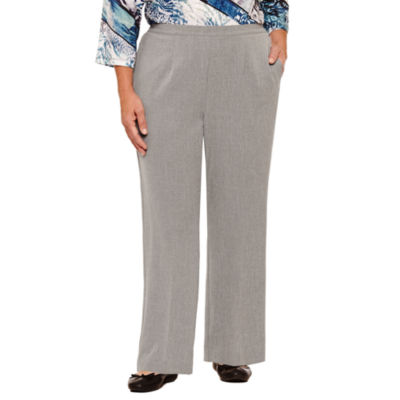 Alfred Dunner Arizona Sky Woven Flat Front Pants-Plus