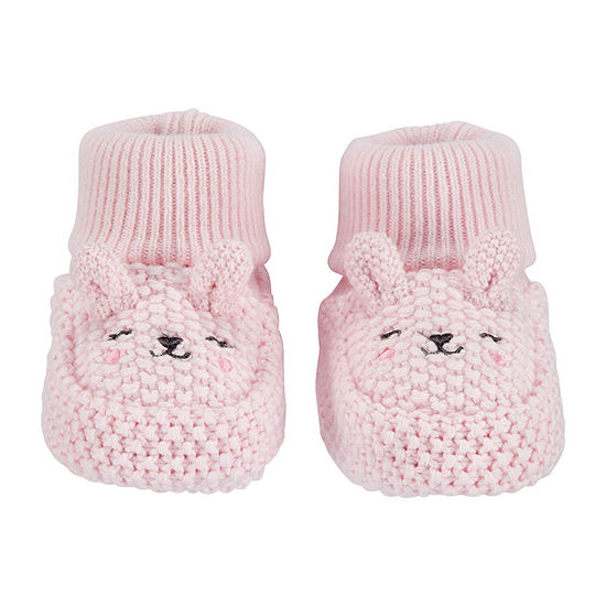 Carter's Baby Girls 1 Pair Newborn Baby Booties
