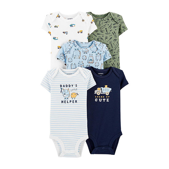 Carter's Little Baby Basic Baby Boys 5-pc. Bodysuit