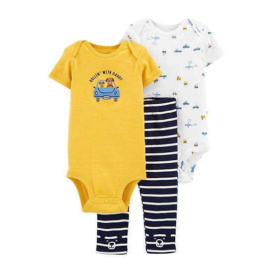 Carter's Baby Boys 3-pc. Clothing Set