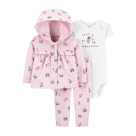 Carter's Baby Girls 3-pc. Clothing Set