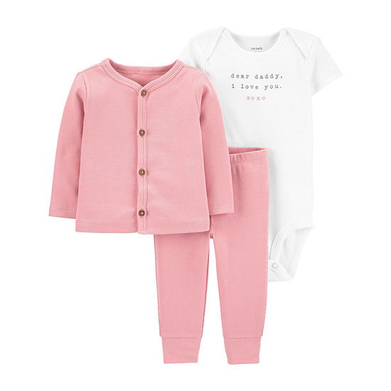Carter's Baby Girls 3-pc. Clothing Set