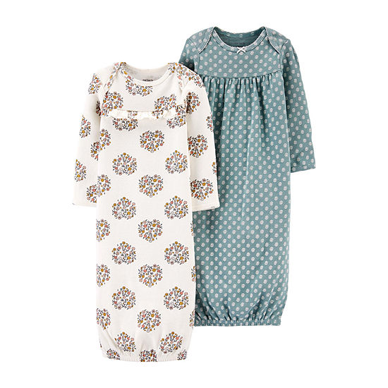 Carter's Baby Girls 2-pc. Nightgown Set