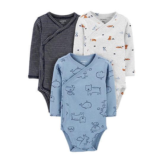 Carter's Little Baby Basic Baby Boys 3-pc. Bodysuit