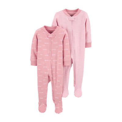 Carter's Little Baby Basics Baby Girls 2-pc. Sleep and Play