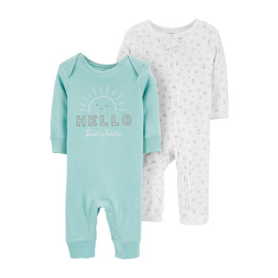 Carter's Baby Unisex Long Sleeve 2-pc. Jumpsuit