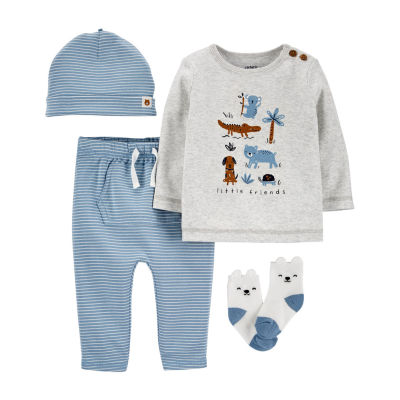 Carter's Baby Boys 4-pc. Pant Set