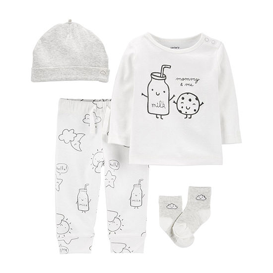 Carter's Baby Unisex 4-pc. Pant Set