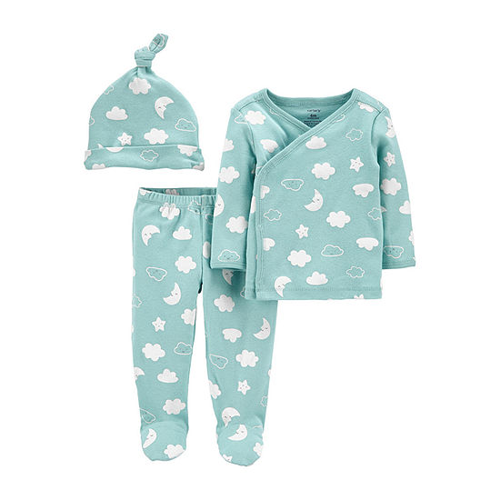Carter's Little Baby Basic Baby Unisex 3-pc. Pant Set