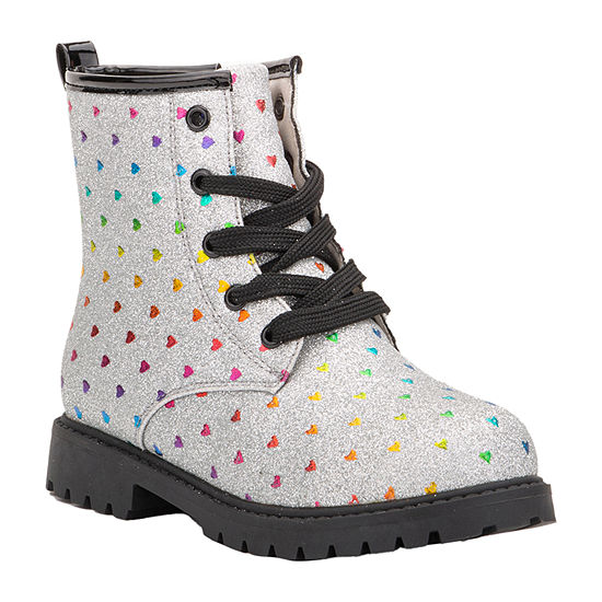 Olivia Miller Little Kid/Big Kid Girls Combat Boots