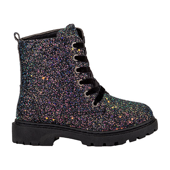 Olivia Miller Little Kids Girls Lace Up Boots