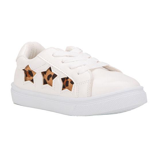 Olivia Miller Little Kids Girls Slip-on Sneaker