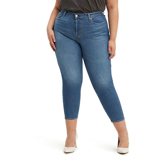 Levi's - Plus Wedgie Womens High Rise Skinny Fit Jean