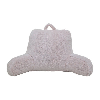 Home Expressions Sherpa Bed Rest Pillow