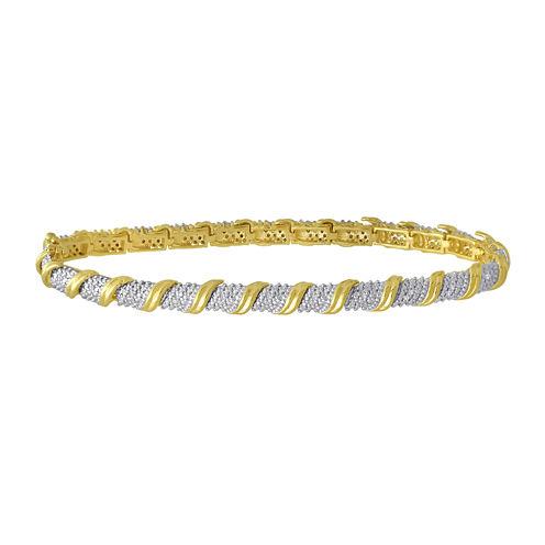 1/10 CT. T.W. Diamond Tennis Bracelet
