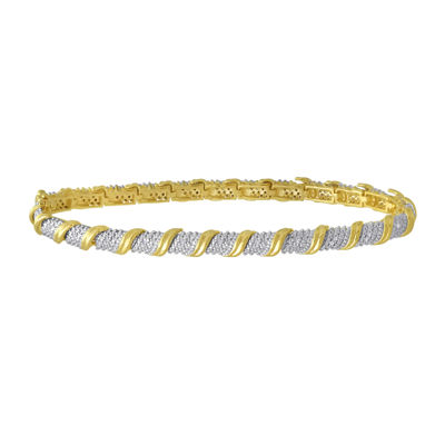 1/10 CT. T.W. Diamond Tennis Bracelet