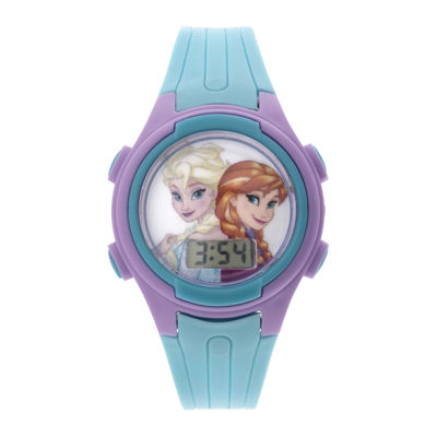 Disney Frozen Elsa and Anna Kids Flashing Digital Watch