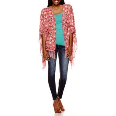 jcpenney.com | Rewind Kimono, Decree® Cami or YMI® Wanna Betta Butt Skinny Jeans