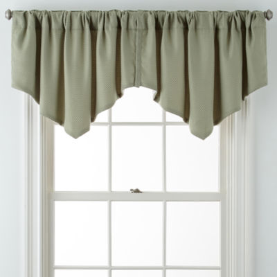 JCPenney Home™ Marsell Lined Rod-Pocket/Back-Tab Ascot Valance