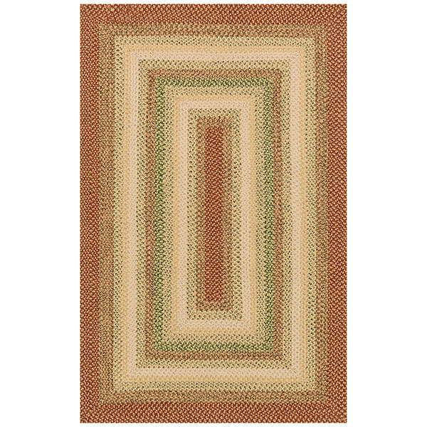 Canyon Reversible Braided Indoor/Outdoor Rectangular Rug