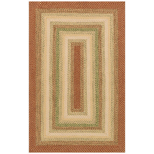 Canyon Reversible Braided Indoor Outdoor Rectangular Rug