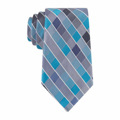 Van Heusen Plaid Tie XL
