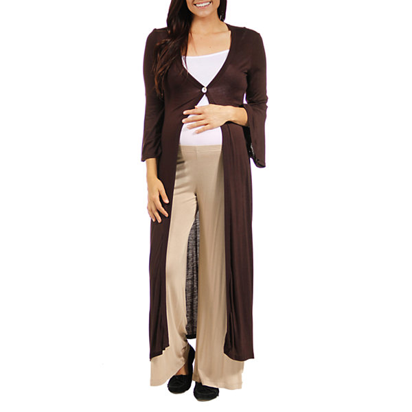 24/7 Comfort Apparel Cardigan Maternity