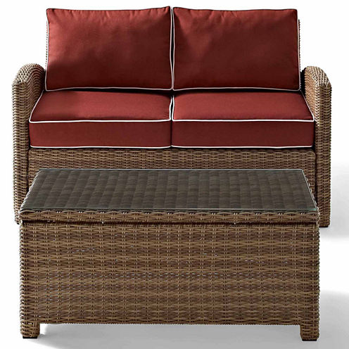 Crosley Bradenton Wicker 2-pc. Patio Lounge Chair