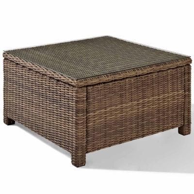 Crosley Bradenton Wicker Patio Coffee Table