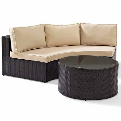 Crosley Catalina Wicker 2-pc. Patio Lounge Set