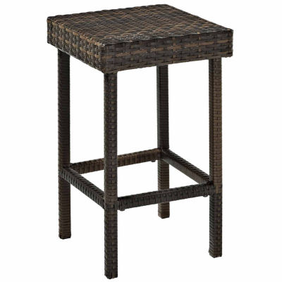 Crosley Palm Harbor Wicker 2-pack Patio Bar Stool