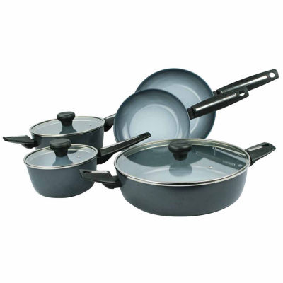Azul Gres 8-pc. Cookware Set
