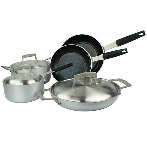Moneta Pro Protection Base 8-pc. Cookware Set