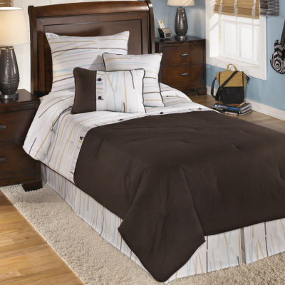 Signature Design By Ashley Stickly Comforter Set