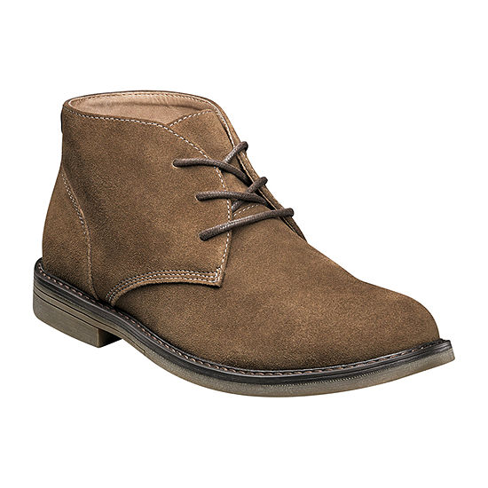 Nunn Bush Mens Lancaster Chukka Boots Flat Heel
