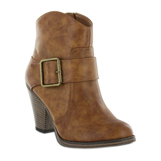 Mia Girl Womens Fazia Block Heel Booties
