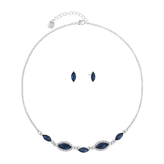 Monet Jewelry 2-pc. Blue Jewelry Set