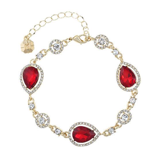 Monet Jewelry Red Chain Bracelet