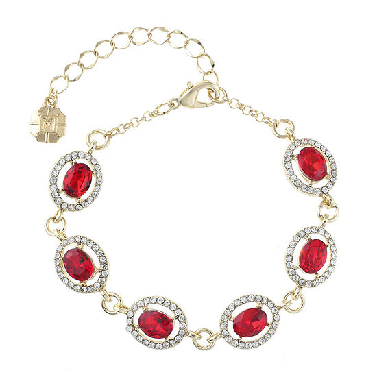 Monet Jewelry Red Chain Bracelet