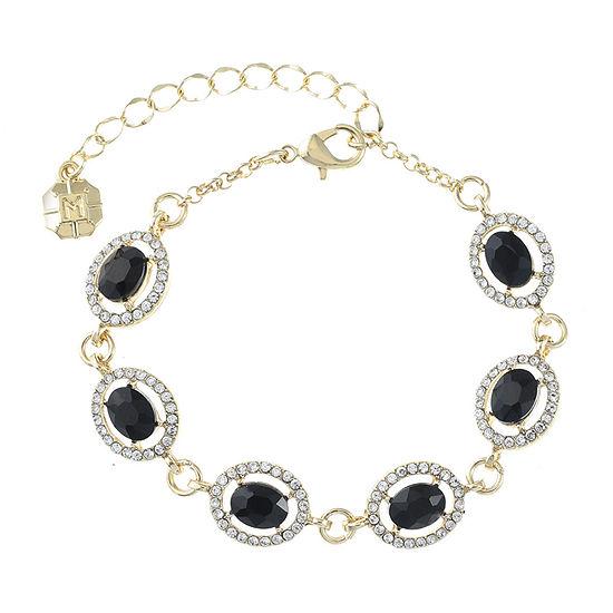 Monet Jewelry Black Chain Bracelet