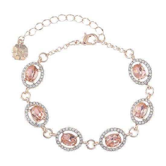 Monet Jewelry Orange Chain Bracelet