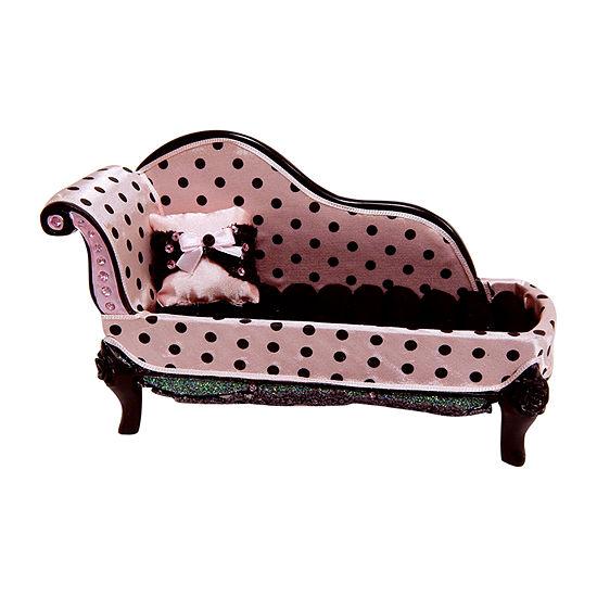 Polka Dot Lounge Chair Jewelry Box