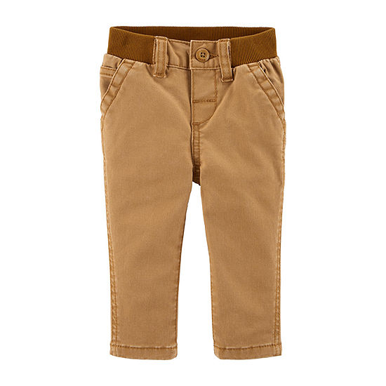 Oshkosh Girls Pull-On Pants - Baby