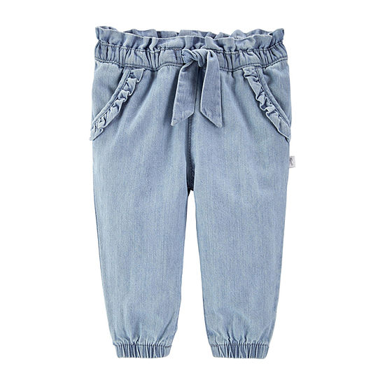 Oshkosh Girls Jogger Pant - Baby