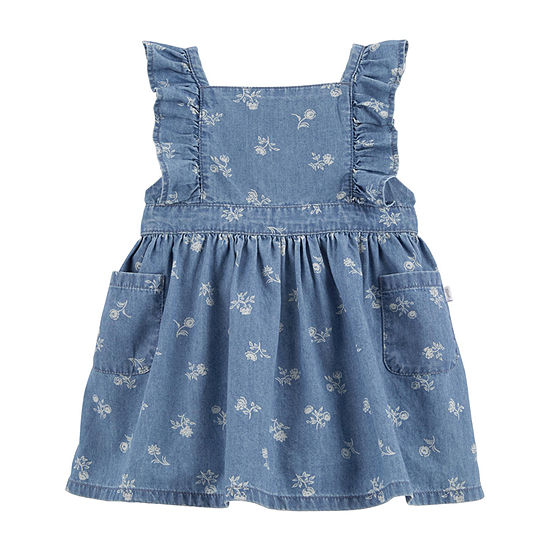 Oshkosh Girls Sleeveless A-Line Dress - Baby
