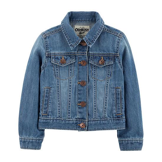 Oshkosh Denim Jacket-Toddler Girls