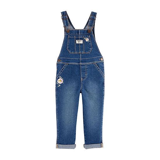 Oshkosh Girls Overalls - Toddler